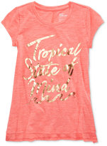 Epic Threads Tropical State Of Mind Graphic-Print T-Shirt, Big Girls (7-16), Only at Macy's