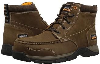 Ariat Edge LTE Chukka Composite Toe (Dark Brown) Men's Work Boots