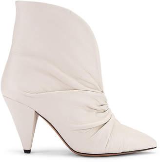 Isabel Marant Lasteen Boot in White | FWRD