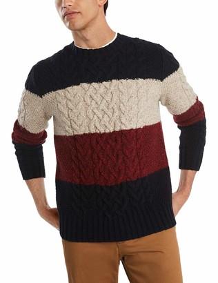 Tommy Hilfiger Men's Columbia Crew Neck Wool Sweater