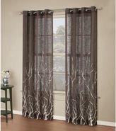 Bed Bath & Beyond Alton Print Grommet Window Curtain Panel