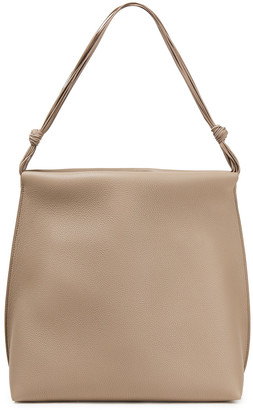 The Row Wander Pebbled-leather Tote
