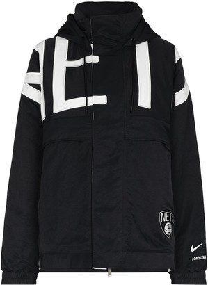 Nike x AMBUSH Brooklyn Nets hooded jacket
