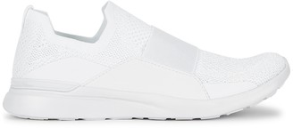 Athletic Propulsion Labs Techloom Bliss White Stretch-knit Sneakers