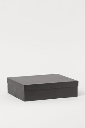 H&M Lidded shallow storage box