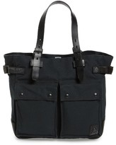 Belstaff Men's Pinner Canvas Tote - Black