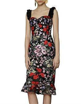 Bronx & Banco Alicia Midi Dress