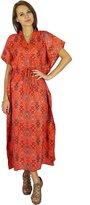 Phagun Caftan Dress Bohemian Cotton Kaftan Maxi Nightwear