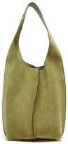 Acne Studios Adrienne Suede Shoulder Bag - Womens - Khaki