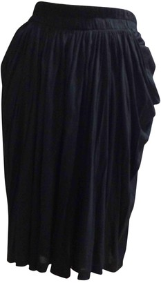 Plein Sud Jeans Black Skirt for Women