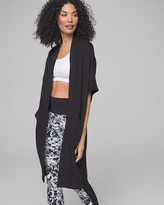Fleece Cocoon Wrap Black