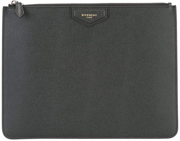 Givenchy logo zipped pouch