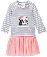 Jenna & Jessie Sequined Panda Tutu Dress (Little Girls)