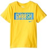 Nike SwooshTM Short Sleeve Tee (Little Kids)