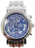 Lucien Piccard Chronograph Stainless Steel Blue Dial 40mm Mens Watch