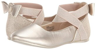 Kenneth Cole Reaction Tap Glitz (Little Kid/Big Kid) (Light Gold) Girl's Shoes