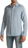 True Grit Newport Double Light Indigo Shirt - Long Sleeve (For Men)