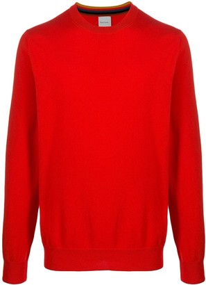 Paul Smith Crew Neck Cashmere Jumper