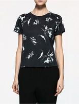Calvin Klein Platinum Floral T-Shirt