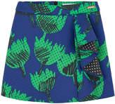 Moschino Printed neoprene mini skirt