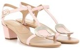 Roger Vivier Chips Leather Sandals