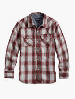 Lucky Brand Red And Navy Woven