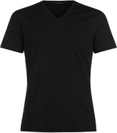 CHALLENGE V-neck T-shirt in stretch jersey