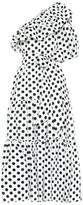 Lisa Marie Fernandez Arden polka-dot linen dress