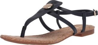 Lindsay Phillips Women's T-Strap Sandal Flip-Flop