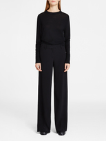DKNY Wide Leg Pant With Cutout Sides