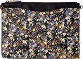 LK Bennett Rachel floral leather cross-body bag