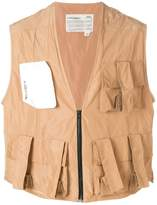 A-Cold-Wall* pocket front gilet