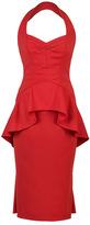 Lena Hoschek Onassis Red Peplum Dress