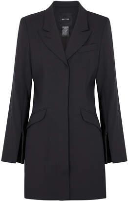Smythe Charcoal Longline Wool Blazer
