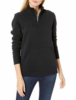 Amazon Essentials Long-Sleeve Lightweight French Terry Fleece Quarter-Zip Top Sweatshirt