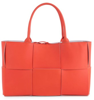 Bottega Veneta Small Arco Leather Tote