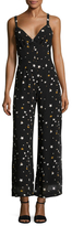 Lucca Couture Printed Stars Wide Leg Jumpsuit
