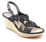 Bare Traps Baretraps Tiffeny Women Open Toe Synthetic Black Wedge Sandal.
