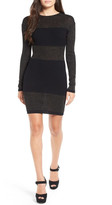 ASTR the Label &Anne& Ribbed Body-Con Dress