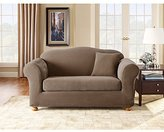 Sure Fit Stretch Pique Two Piece Sofa Slipcover