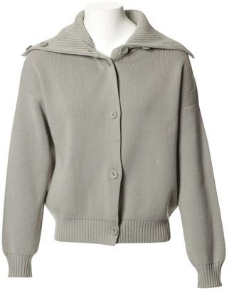 Hermes Grey Wool Knitwear for Women Vintage