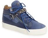 Giuseppe Zanotti Men's Chain Mid Top Sneaker