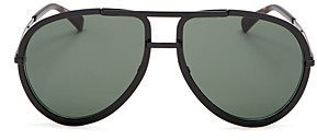Givenchy Women's Brow Bar Aviator Sunglasses, 60mm