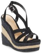 Schutz Daenerys Strappy Wedge Platform Sandals