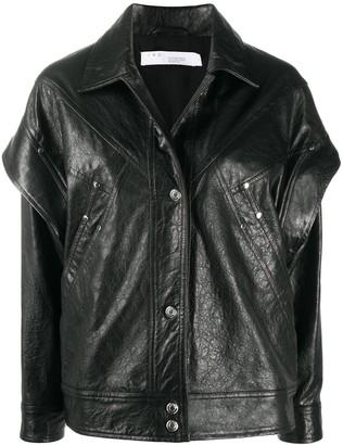 IRO Panelled Leather Jacket
