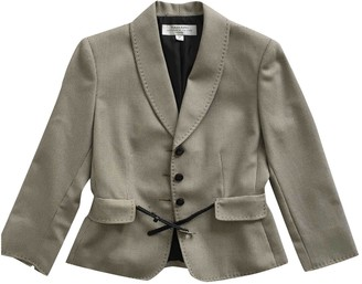Elie Tahari Grey Jacket for Women