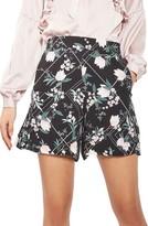 Topshop Women's Mix Floral Shorts