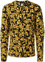 Versace printed pyjama top