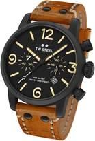 TW Steel Men's MS33 Maverick Analog Display Quartz Brown Watch