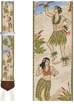 Trafalgar Men's 'Polynesian Paradise' Silk Suspenders